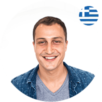SurveyBees Content Coordinator Aris Vourvoulias