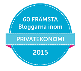 60 Främsta Bloggarna inom Privatekonomi 2015